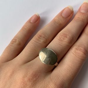 Jewelry - Oval Sterling Silver Ring
